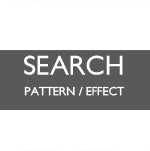▲ SEARCH ALL BY PATTERN / EFFECT